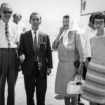 Robert Warren w/ Dr. and Mrs. Suzuki, and Esther Ford