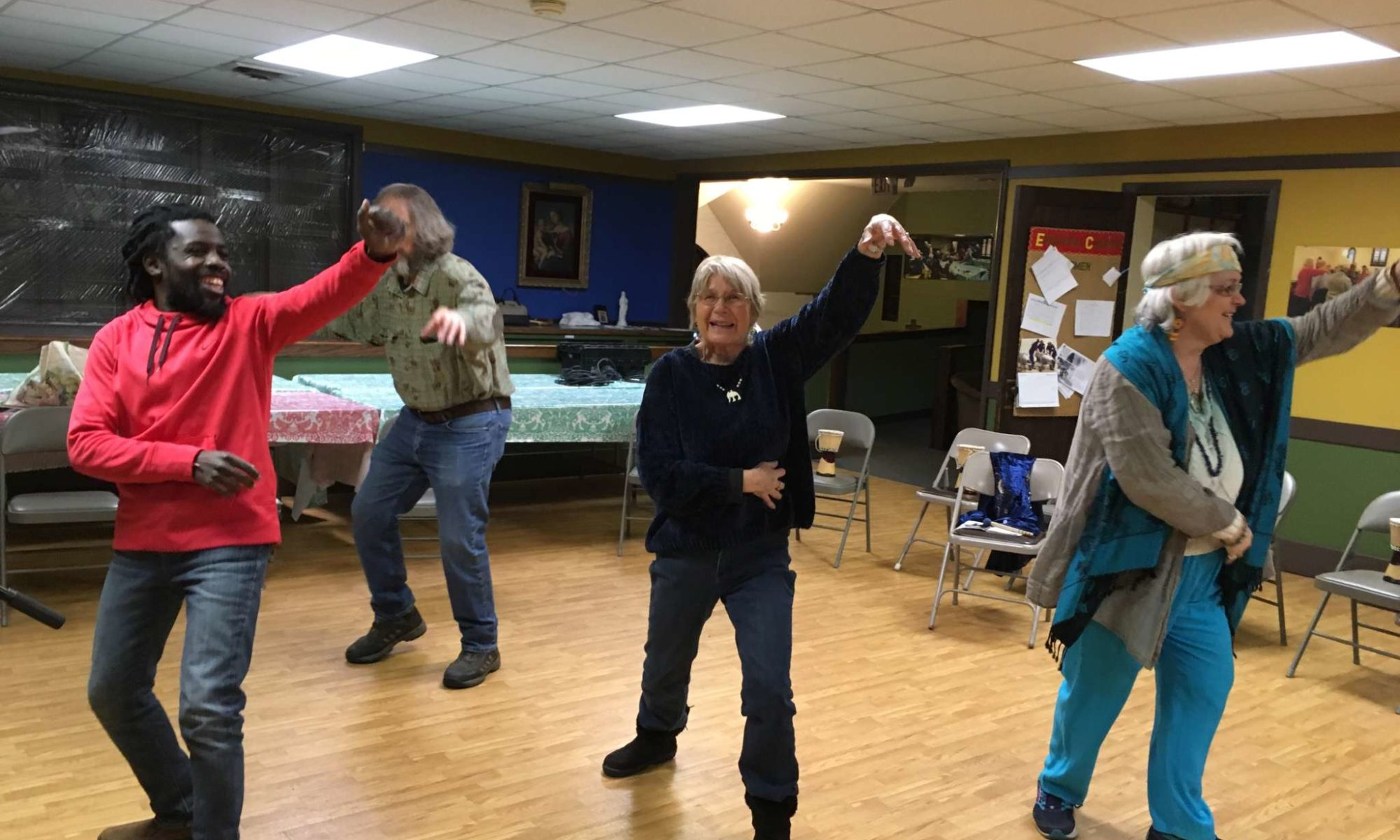 African Dance and Drumming Workshop for Adults FRI 1/18 7PM